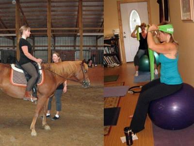 Pilates Exercises for Horseback Riding