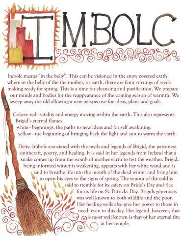 jezebelsmuse - Imbolc: wiccan celebration and ritual set