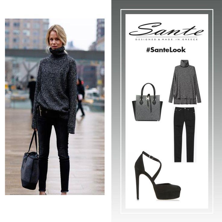 How fashion girls wear high heels! #SanteLook Shop NOW: www.santeshoes.com