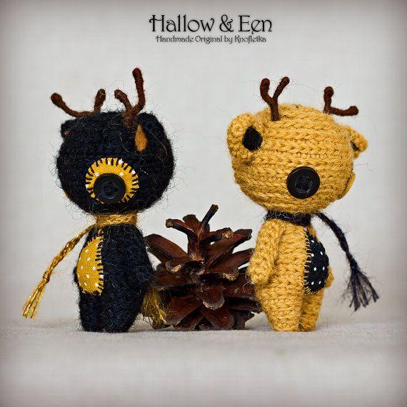Hallow & Een - Original Handmade Reindeer/Collectable/Gift/Charm