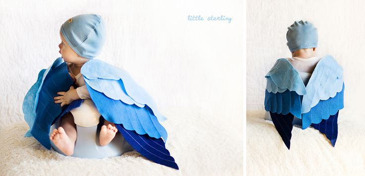 baby Halloween bird costume