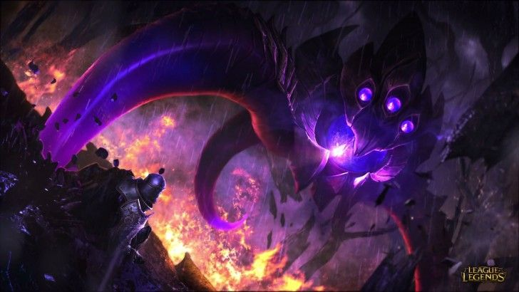 Velkoz vs Helmet Bro League of Legends 1920x1080