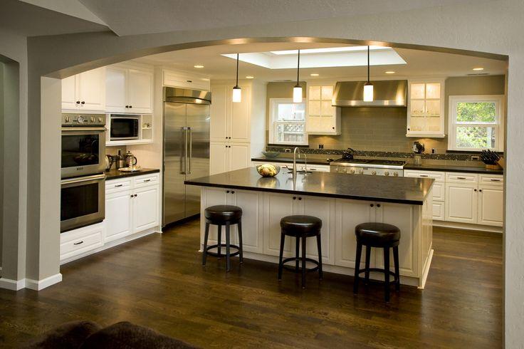 craftsman kitchens   Craftsman Modern Kitchen   Home Design and Decor Reviews
