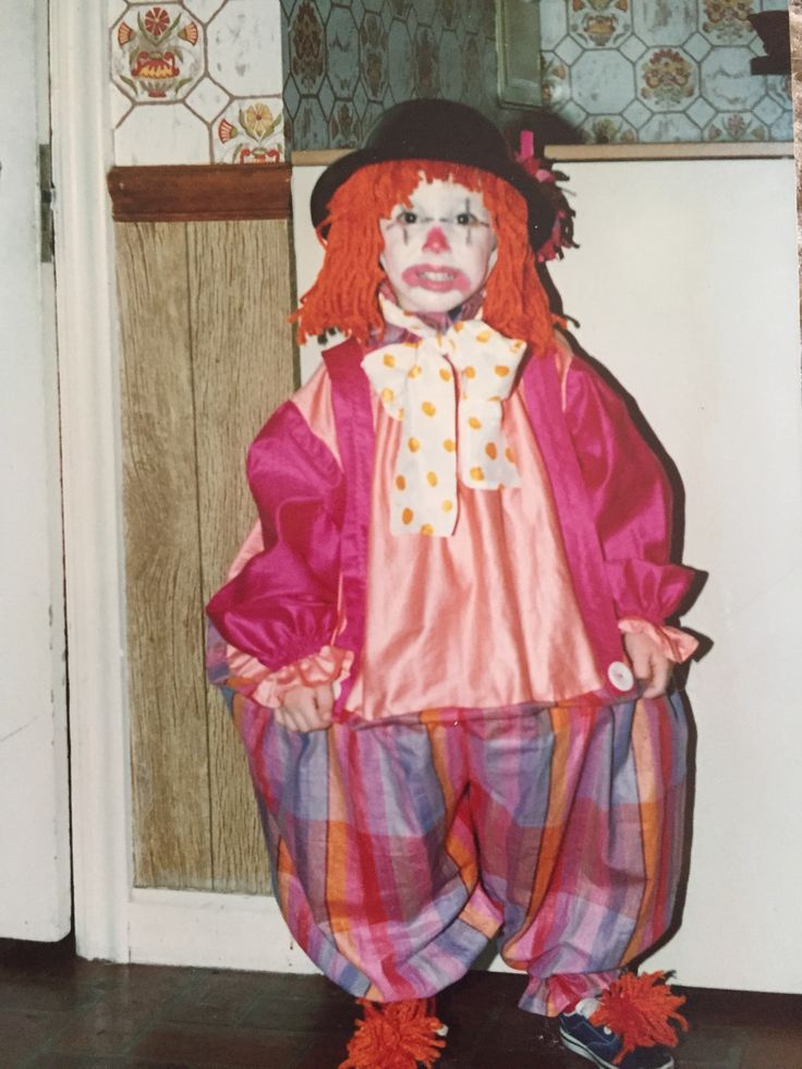 RYAN JOLLY CLOWN HALLOWEEN COSTUME Clown halloween