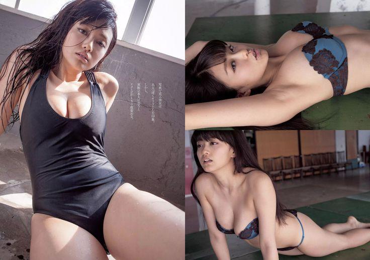 [Weekly Playboy] 2014 No.34-35 AKB48 山地まり 桥本环奈 吉木りさ 安达佑実 小瀬田麻由-第18张图片