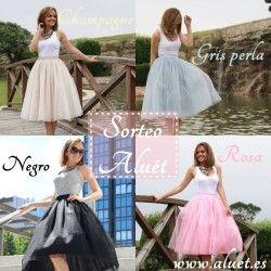 Gana una #Falda de #Tul #HandMade ^_^ http://www.pintalabios.info/es/sorteos_de_moda/view/es/3835 #ESP #Sorteo #Moda