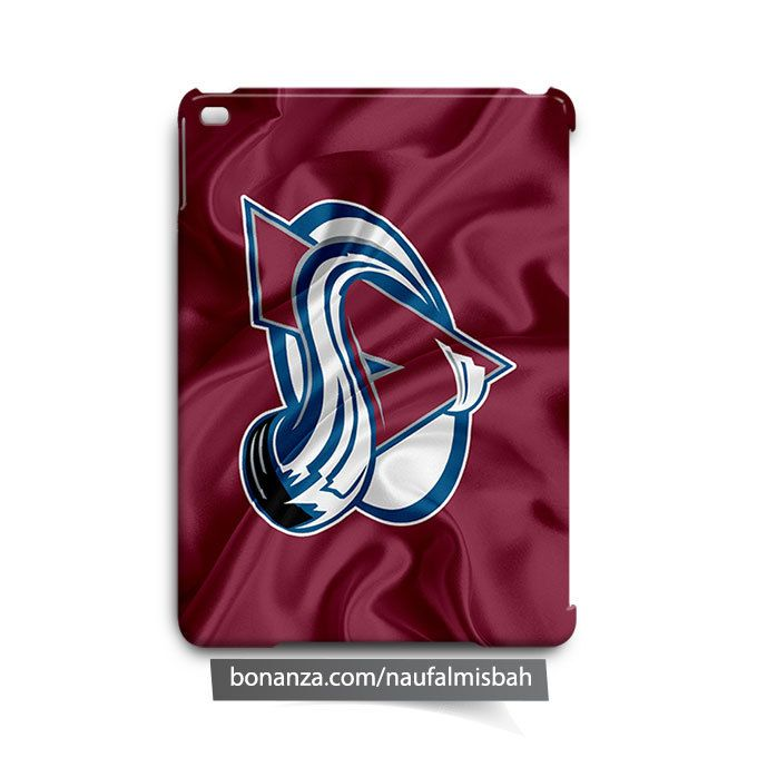 Colorado Avalanche Ruffles Silk iPad Air Mini 2 3 4 Case Cover