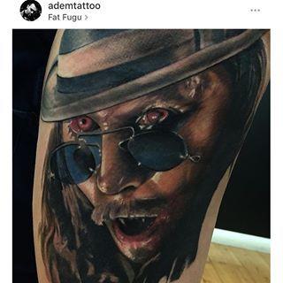Dracula Tattoo Horror Ideas Rocky