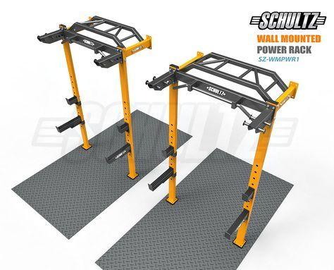 wall mounted power rack