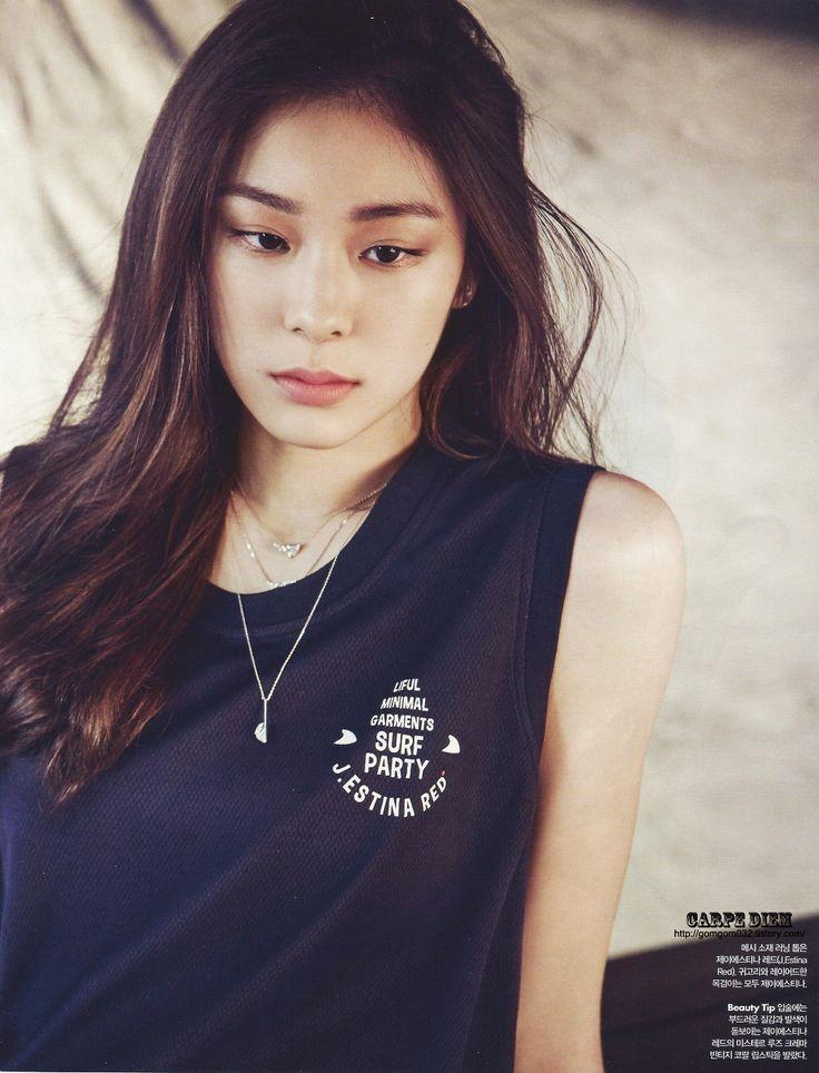 #Yuna Kim #김연아 - CARPE DIEM :: 2015 얼루어 6월호 김연아 화보