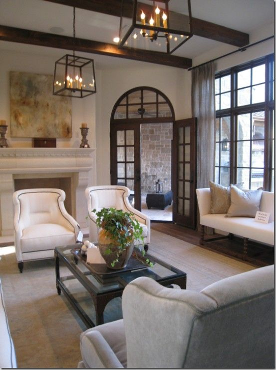 Deborah Leamann Interiors.  I love all types of homes and interiors but the California costal style with a Spanish core always has a tight hold on my heart