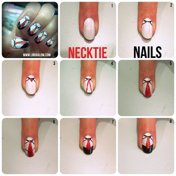 16 best Father\'s Day Nail Designs images on Pinterest | Belle nails ...