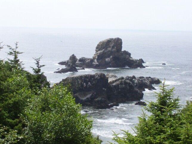 Oregon coast near Cannon Beach.