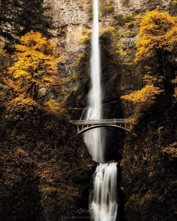 Multnomah Fall(s) by Rick Parchen – Photo 180779685 / 500px –
