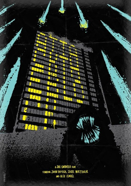 Attack the Block poster by Daniel NorrisPop Culture, Block Posters, Daniel Norris, Posters Design, Design Direction, Attack, Film Posters, The Block, Minimal Movie Posters