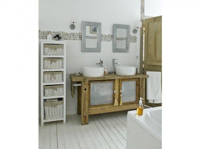 ... sur Pinterest  Décoration de salle de bains, Vintage et Pierres