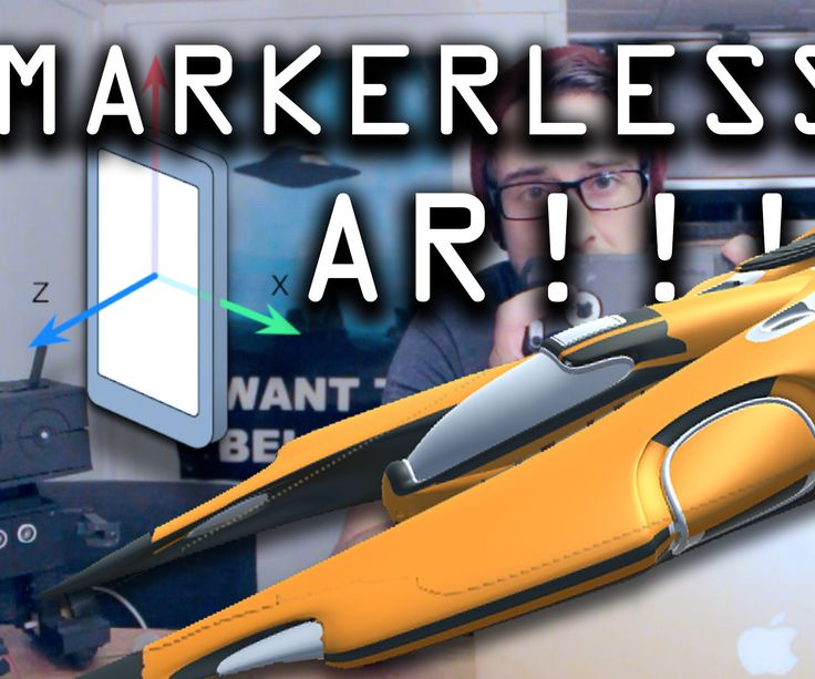 Markerless Augmented Reality App for BEGINNERS!