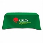Use promotional tablecloths to decorate your tables for special events. As low as $62 each.