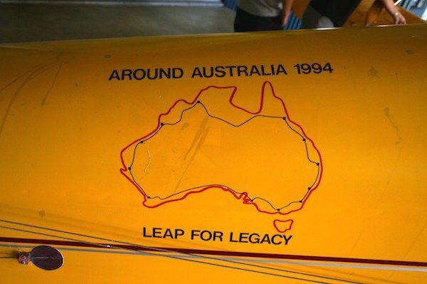 Matilda at Edwards Wines - Around Australia 1994