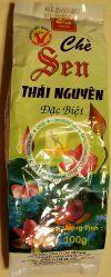 CHE SEN THAI NGUYEN DAC BIET - Чай зеленый с лотосом (лотосовый чай) высшего качества специальный - 100 гр. Пр-во Вьетнам.