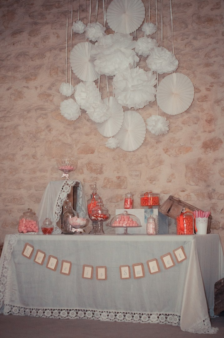 Candy Bar Rustique - Mariage A&A - by @Karen Darling it #Event