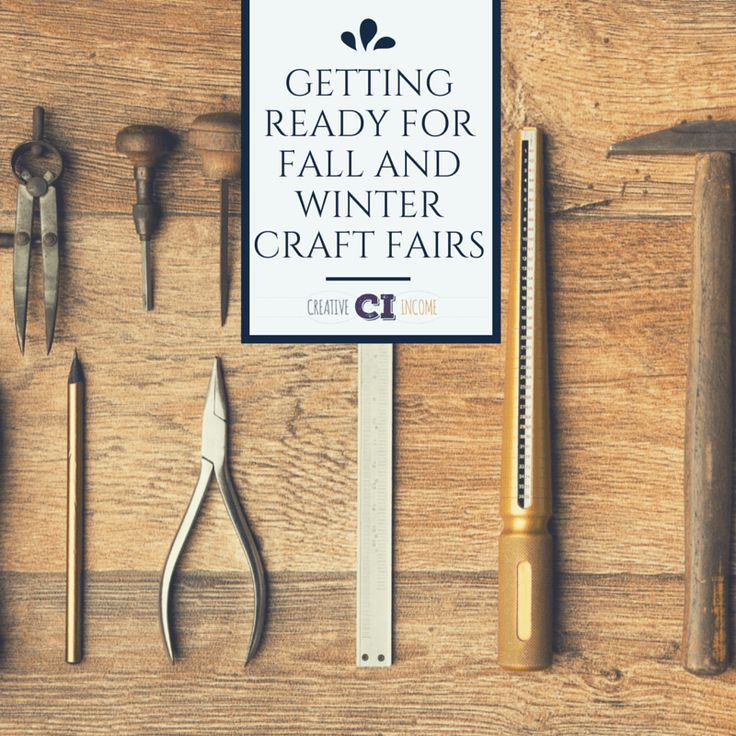 Getting Ready for Fall and Winter Craft Fairs – Indie Crafts