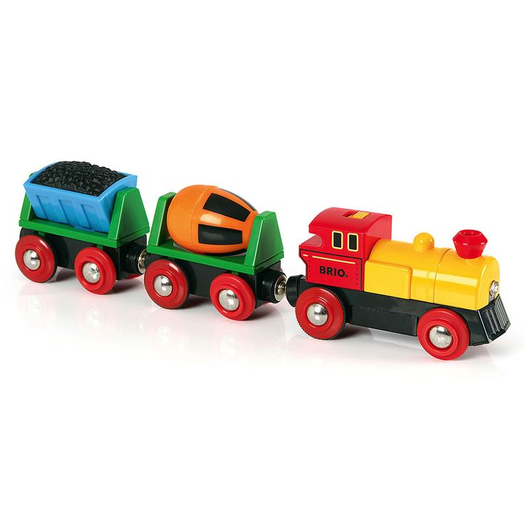 BRIO - Wooden Battery Operated Action Train