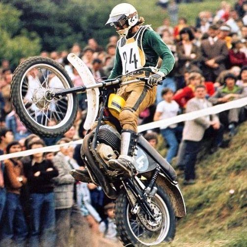 Herbert Schmidt Puch 250cc. 1973