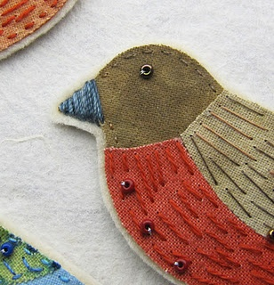 stitched birds. (use on LeJardin project)