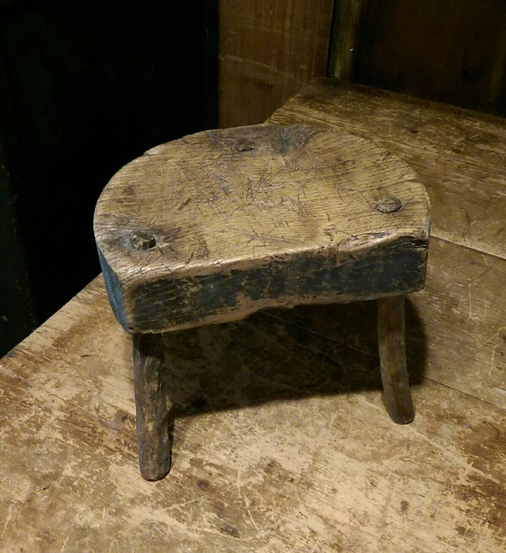 Wonderful Early 3 Legged Milking Stool Now Available At