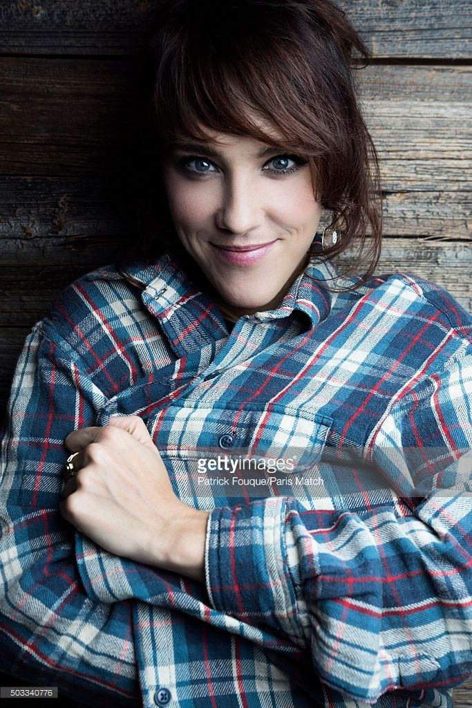 Singer Zaz aka Isabelle Geffroy is photographed for Paris Match on November 4, 2015 in Paris, France.