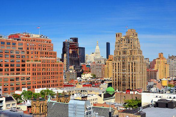 Overlooking #Chelsea, #Manhattan http://www.nyhabitat.com/blog/2013/07/15/live-like-local-chelsea-manhattan/