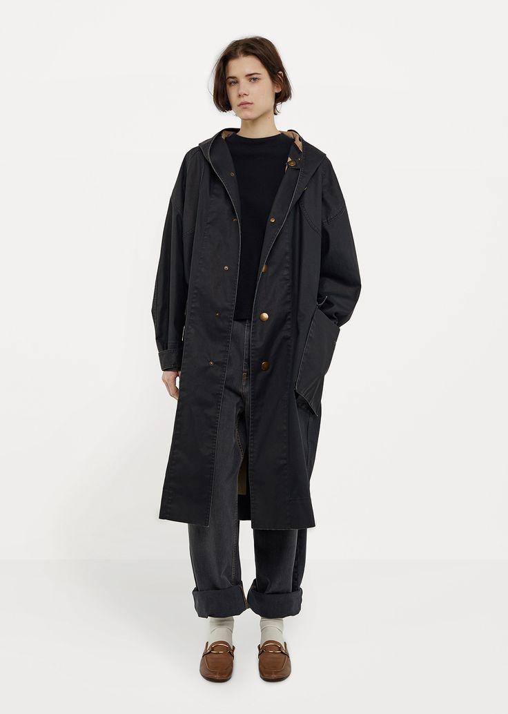 Donato Hooded Trench Coat