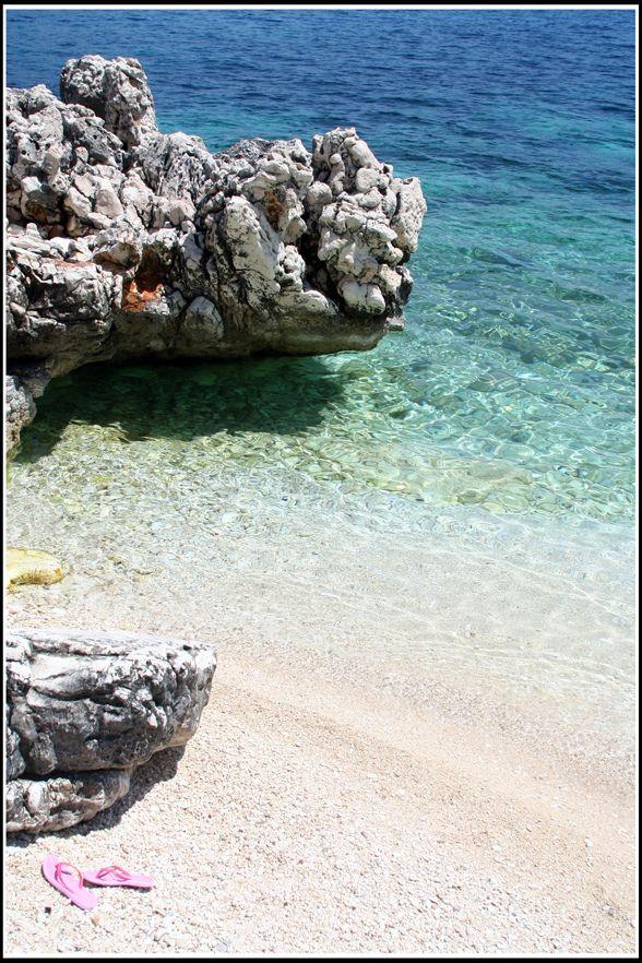 Agia Effimia beach on de island of Kefalonia, Ionian Islands_ Greece