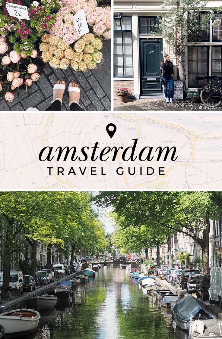Your complete travel guide to visiting Amsterdam. Discover the best things to do, see and eat in the Dutch city!