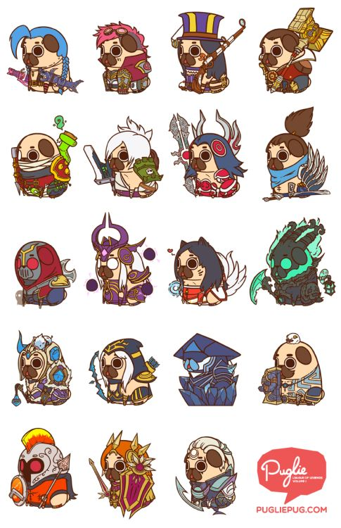 Welcome to the complete, 3 part series of the Puglie's Rift (League of Legends)!Enjoy °˖ And Thank you so much