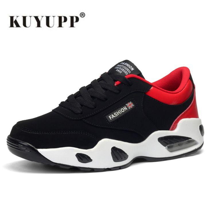 KUYUPP Spring 2017 Sneakers Men Max Air Running Shoes For Men Cushioning Sport Shoes Outdoor zapatillas deportivas hombre B42
