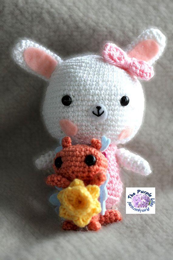 Amigurumi Pâques Kawaii Bunny poupée par PurpleLilacAmigurumi