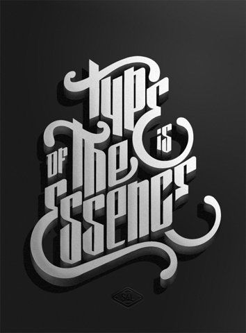 All sizes | Type is of the essence | Flickr - Photo Sharing!