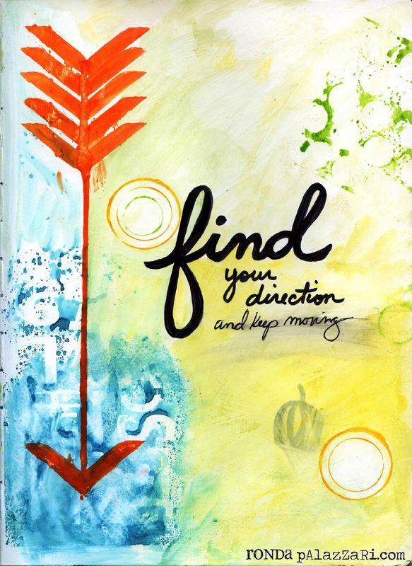 Ronda Palazzari Find [your direction] Art Journal