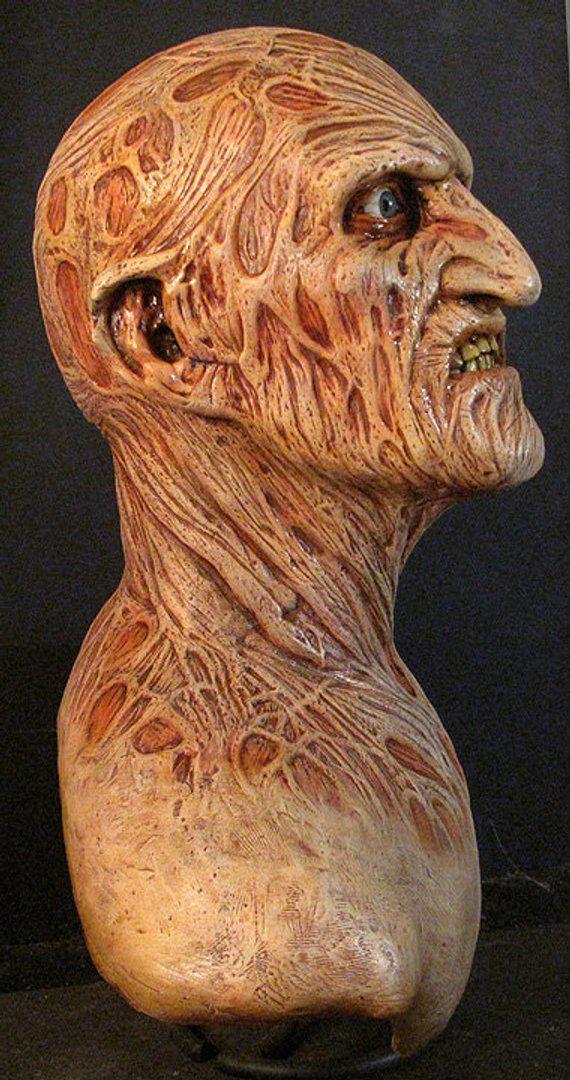 Freddy Krueger Bust 1 1 Scale Lifesize Nightmare On Elm Street