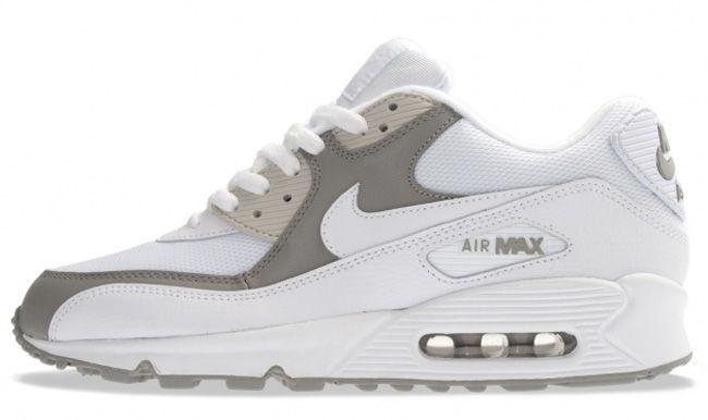 Nike Air Max 90 - Grey & White | KicksOnFire