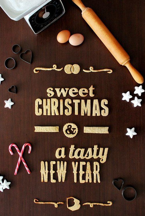 have a sweet christmas and a tasty new year!