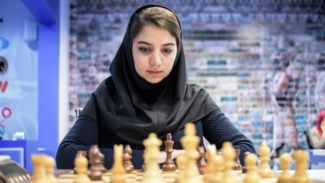Chess Queen : Ranks 2nd in FIDE Women's Grand Prix-Iranian chess player