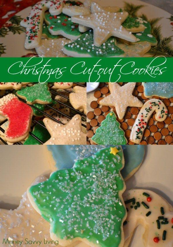 Best Ever Christmas Sugar Cookies Christmas Pinterest Cookies