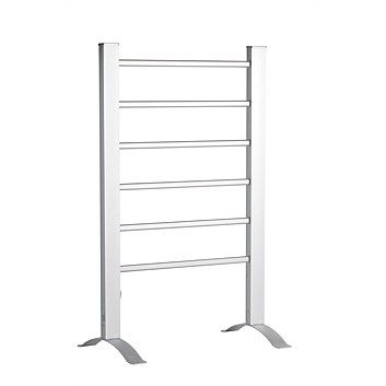 Briscoes - Goldair GFSL Freestanding Aluminium Ladder Heated Towel Rail