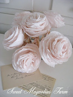 gorgeous rose PENS from Sweet Magnolias Farm