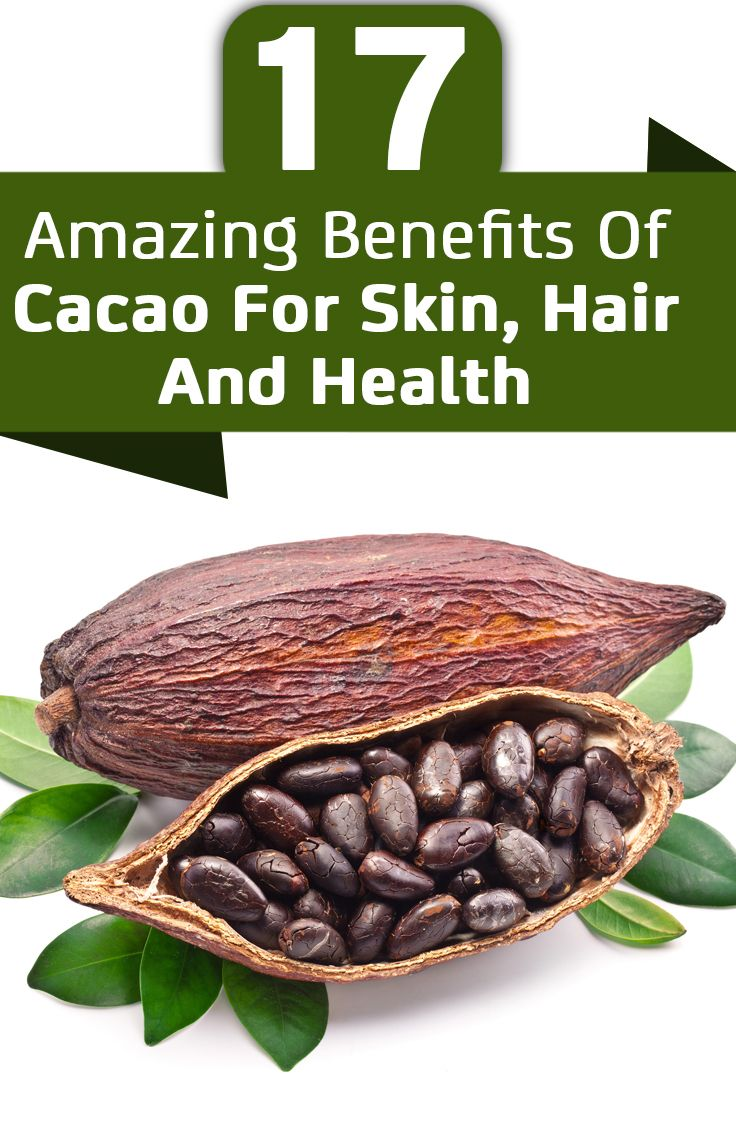 Chocolate comes from the cacao tree which contain healthy antioxidants that can boost your health. Here are amazing benefits of cacao for skin, hair & health