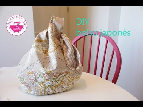 MANUALIDADES. Como hacer un Bolso EN UN MINUTO sin costuras - HOW TO MAKE A BAG IN A MINUTE - YouTube