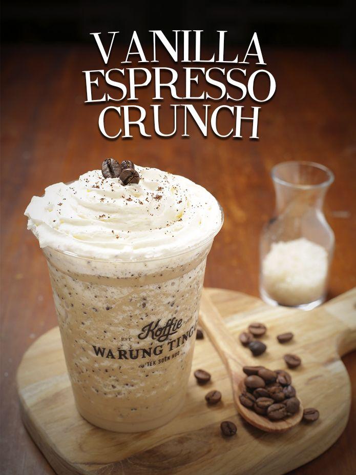 Vanilla Espresso Crunch #koffiecrunch#noMilk#OPCOIndonesia#KoffieWarungTinggi